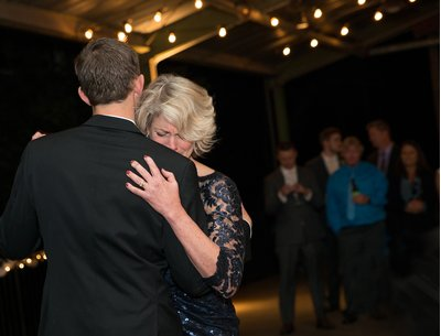 A mother son dance at a wedding at Belt Line Station in Durham, NC.jpg